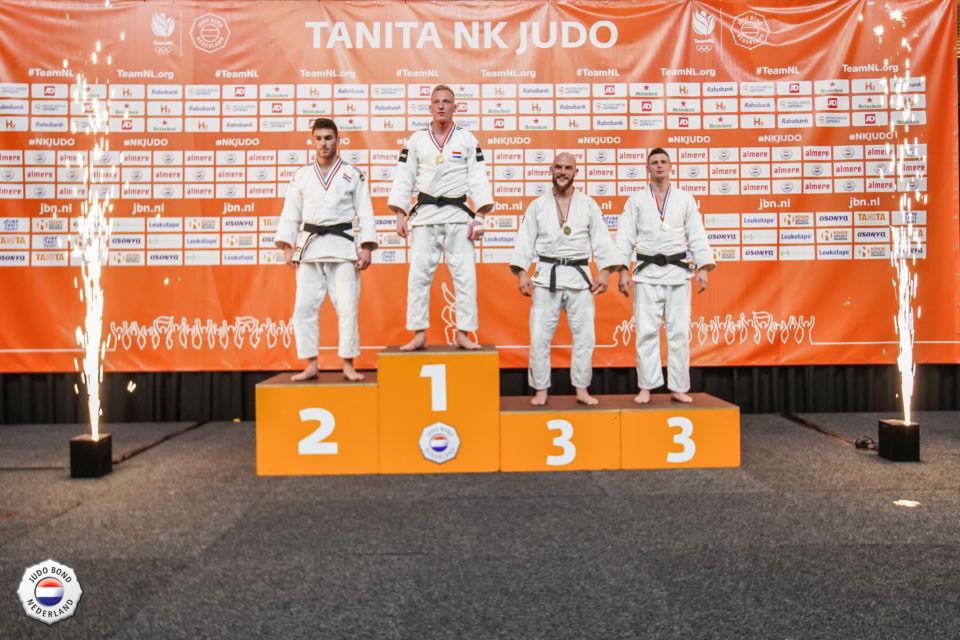 3e plek NK senioren 2019 in Almere